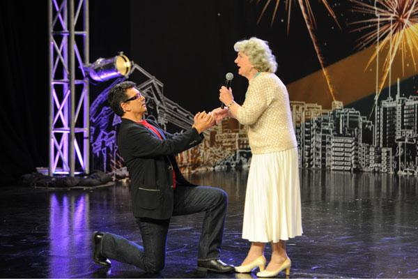 South African talent show judge amazed by octogenarian singer
