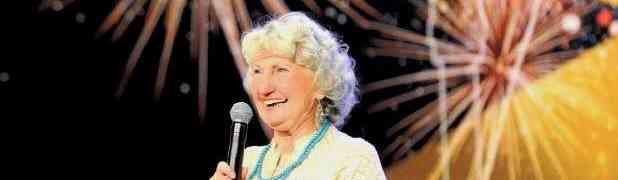 Da Granny Who Rocked Da Show (for her age)