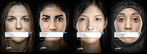 UN anti-sexism campaign based on Google search results
