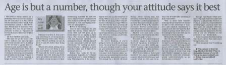 This blog is also now a newspaper column in morning daily, The Mercury of Durban, South Africa