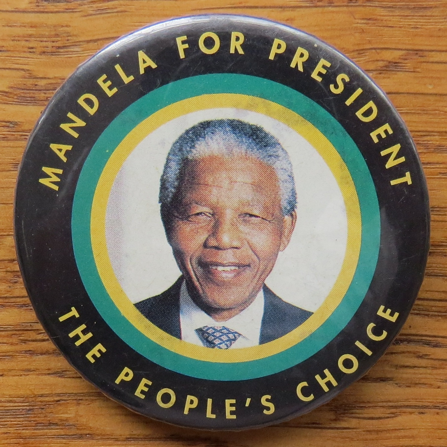 From Mandela's presidential election campaign