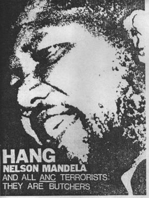 hang mandela-poster