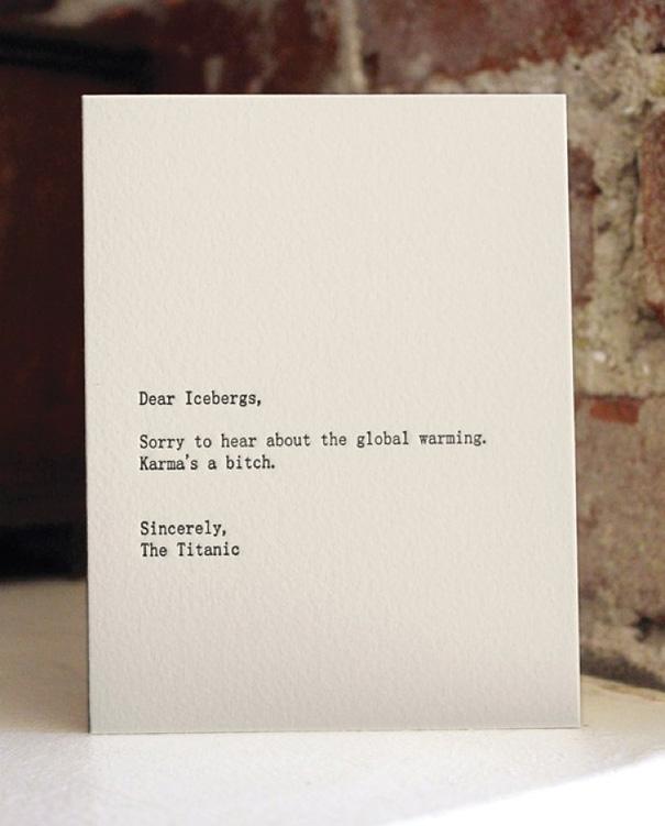Dear Iceberg-Titanic
