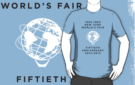 T-shirt of New York World's Fair 50th anniversary