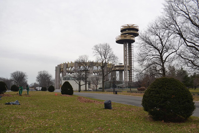 ruins of NY World's fair 50 years later