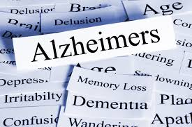 display of words about dementia