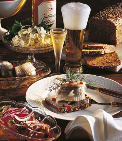The kind of food and drink that older Danes have enjoyed