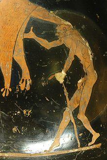 Geras os Greek god of old age
