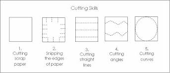 Cutting patterns for preschoolers