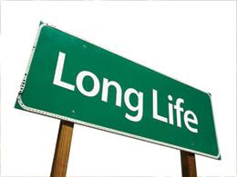 Long Life street sign