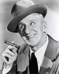 American singer and comedian Jimmy Durante nicknamed his prominent nose The Schnozzola, from the Yiddish word, schnoz.