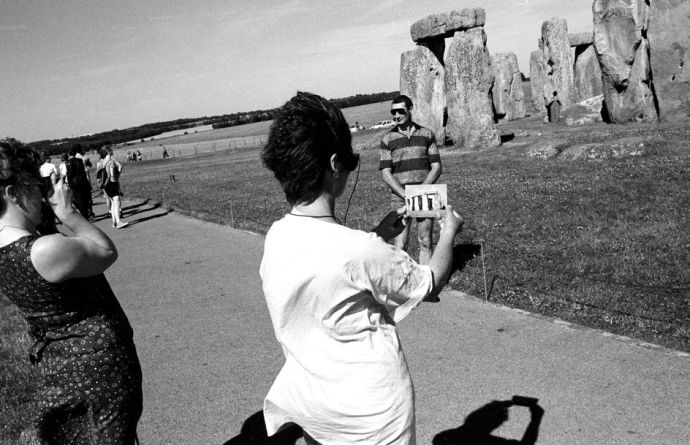 Tourists knocking Stonehenge off their Bucket Lists