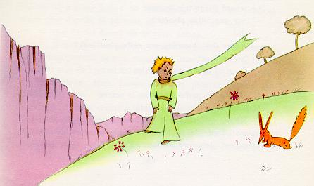 Drawing from Le Petit Prince by author and aviator Antoine de Saint-Exupéry