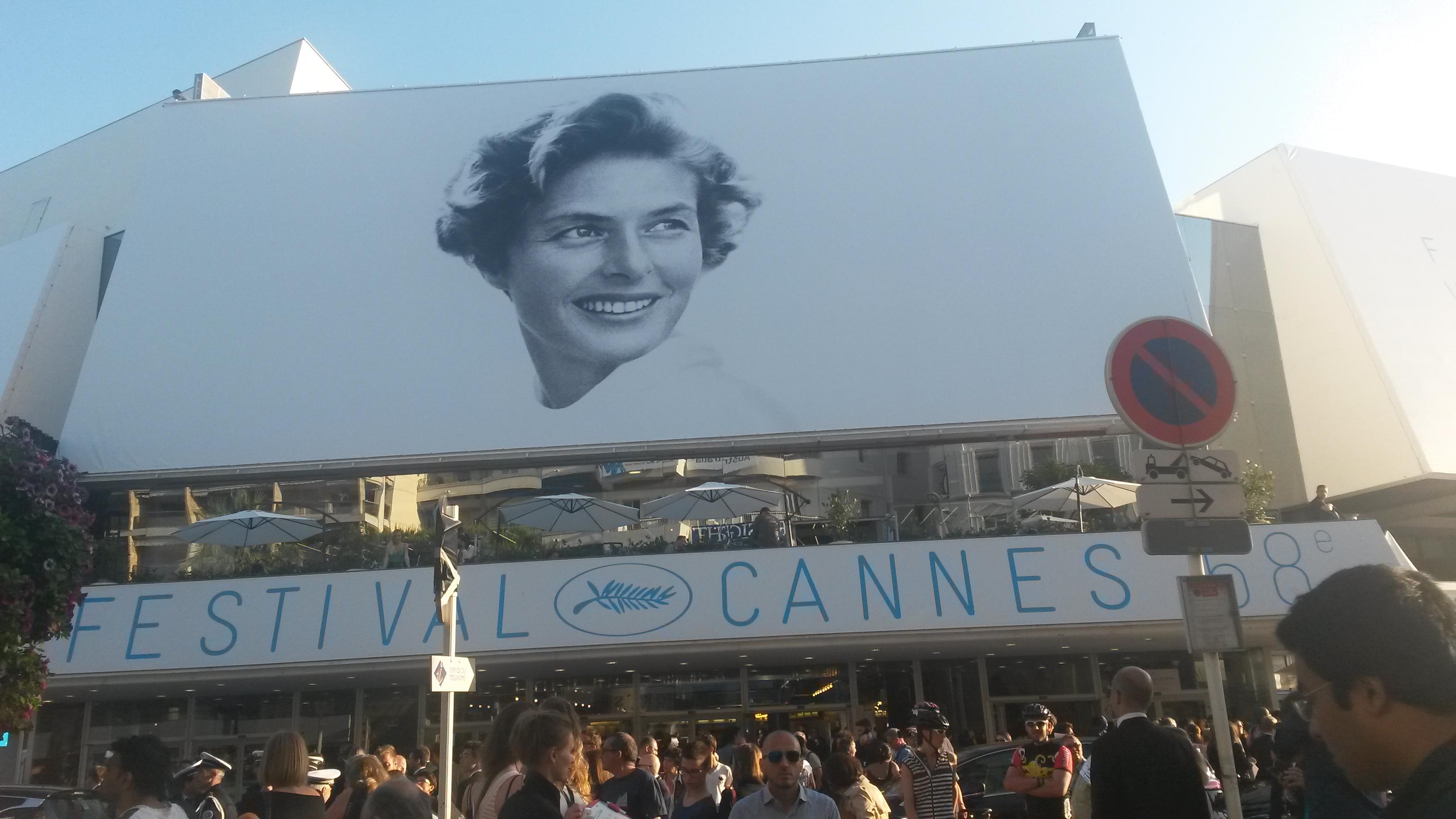 Ingrid Bergman poster brands Cannes Film Festival 2015