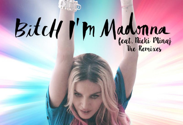 Bitch I'm Madonna album cover