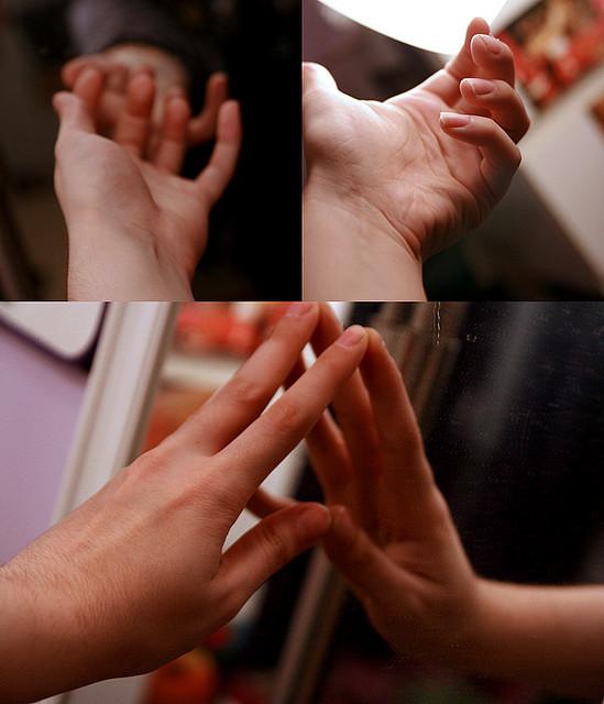 hands fidgeting