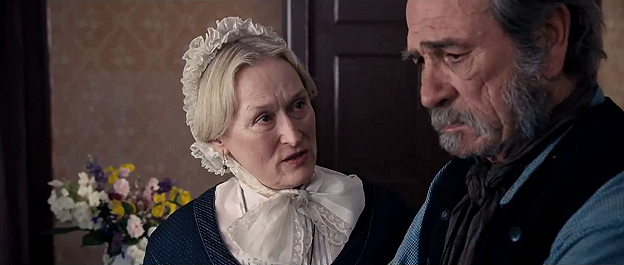 Meryl Streep and Tommy Lee Jones in Homesman
