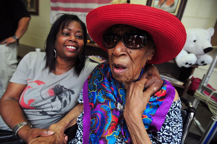 World's oldest person Susannah Mushatt Jones
