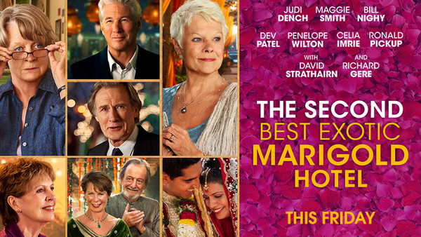 2nd Best Exotic Marigold Hotel poster