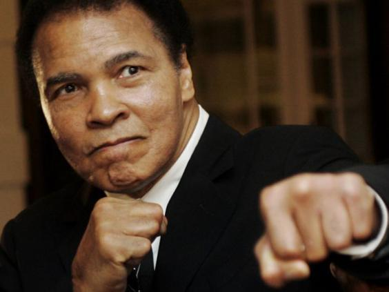Muhammad Ali, Davos, 2006