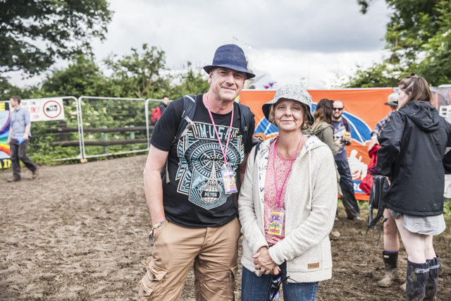 Glastonbury Music Festival older fans