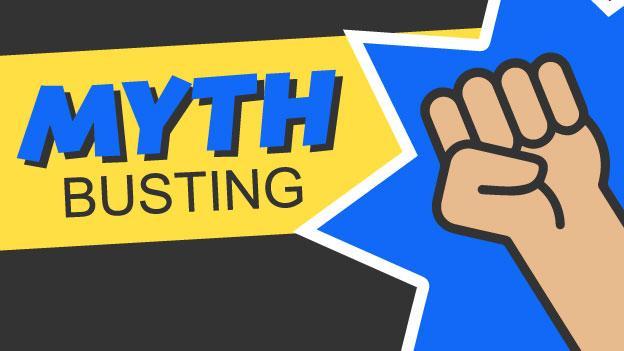 mythbusting fist logo