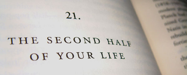 second half of your life book