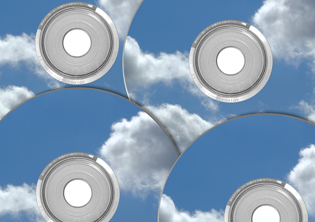 CDs in clouds