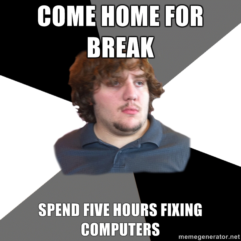 Home Tech Guy meme