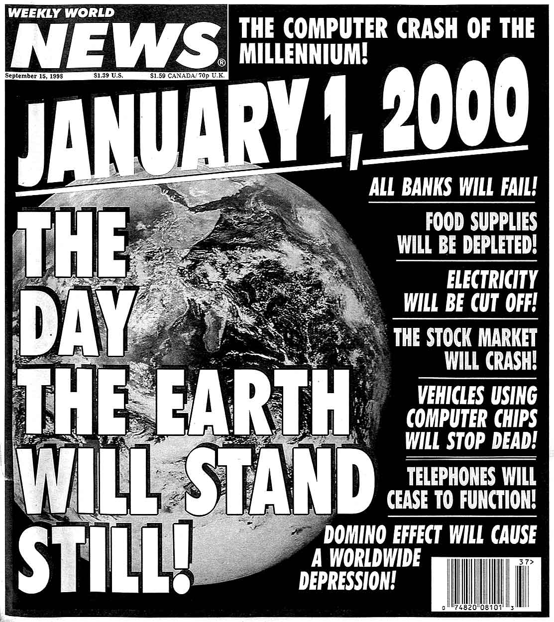 January 1 2000 tabloid warning