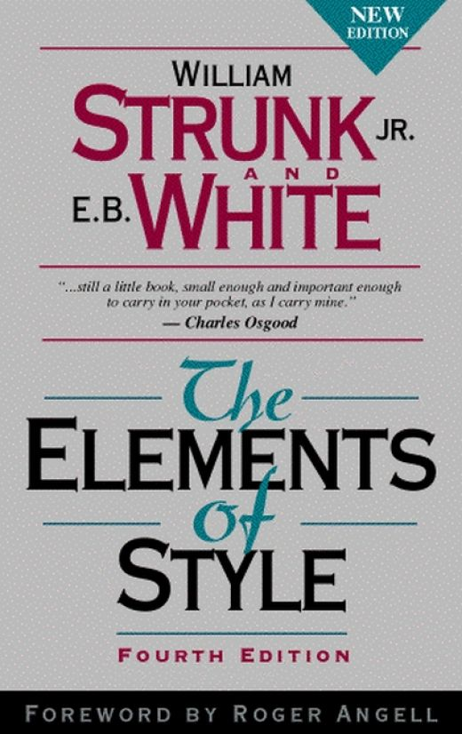 Elements of Style Strunk & White