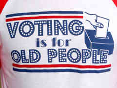 Too old to vote - says who?
